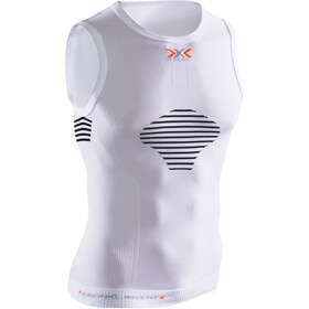 X-Bionic M's Invent Summerlight Shirt Sleeveless White/Black